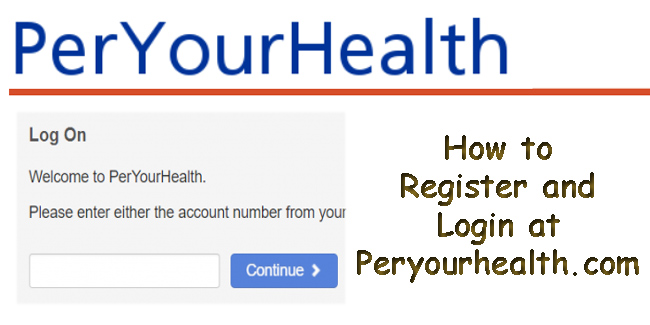 How to Register and Login at Peryourhealth com