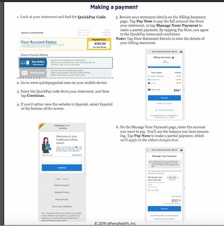 quickpayportal payment history